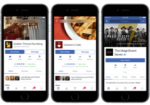 Use Facebook Marketing to take advantage of the new services