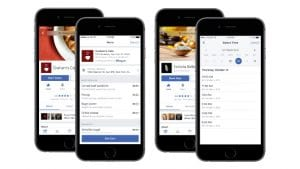 Now Facebook users can order on their mobile phones