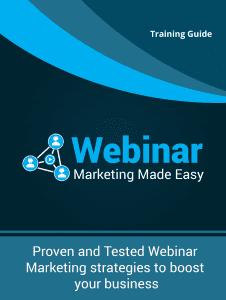 webinar-marketing- Training Guide